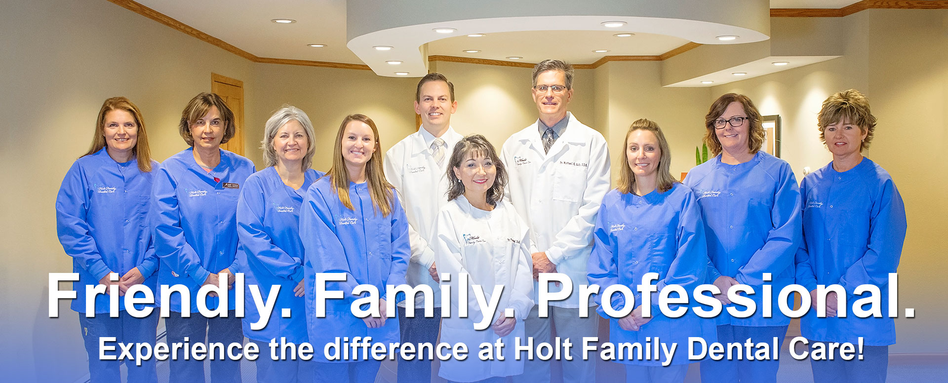 Holt Family Dental Care Team Photo